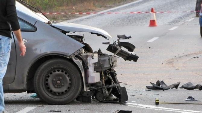 Верижна катастрофа затапи трафика към Приморско