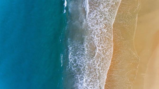 Внимание! Мъртво вълнение в Бургаския залив