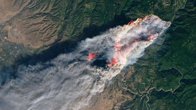 Няма пострадали българи при горски пожари в Северна Калифорния
