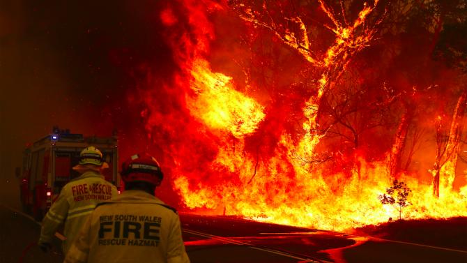 Глобалното затопляне е допринесло за пожарите в Австралия, смята разследваща комисия