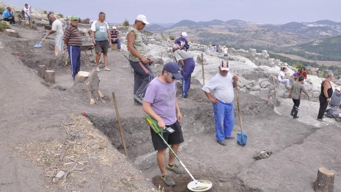 Археолози откриха епископска резиденция в Перперикон