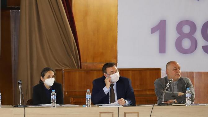 Министър Ангелов: Разрушаваме старата сграда за детска болница в карето на Медицинска академия