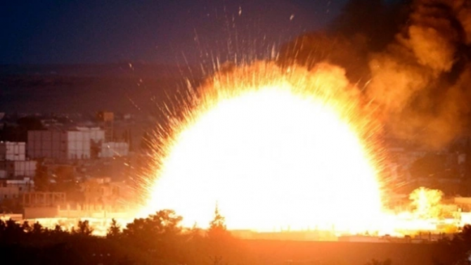 Експлозията в Ливан е била в оръжеен склад на Хизбула