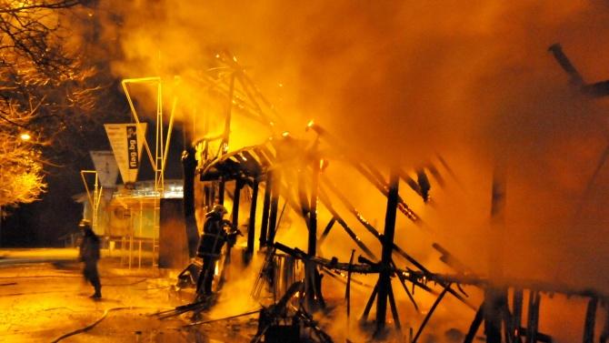 Труп след пожар в къща във Вършец