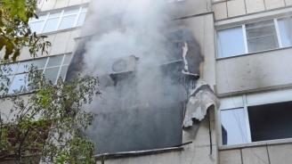 Баща и син са тежко ранени при взрив на газова бутилка в Бургас