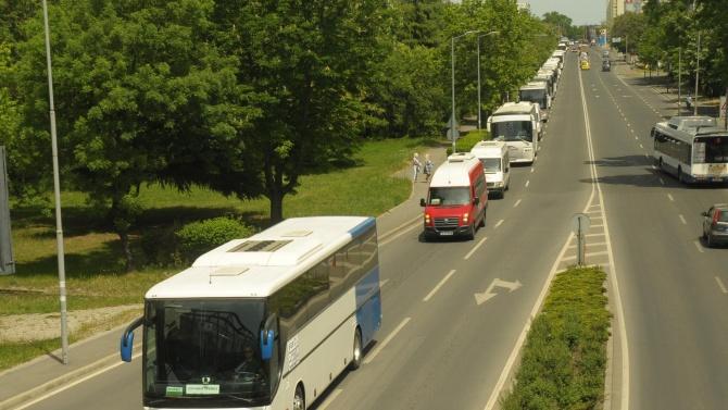 Росен Желязков и Лъчезар Борисов ще подпишат договора за безвъзмездна финансова подкрепа за автобусните превози