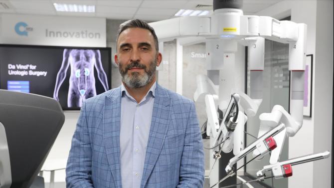 Д-р Калоян Давидов: Роботизираната хирургия носи много ползи както за пациента, така и за лекаря