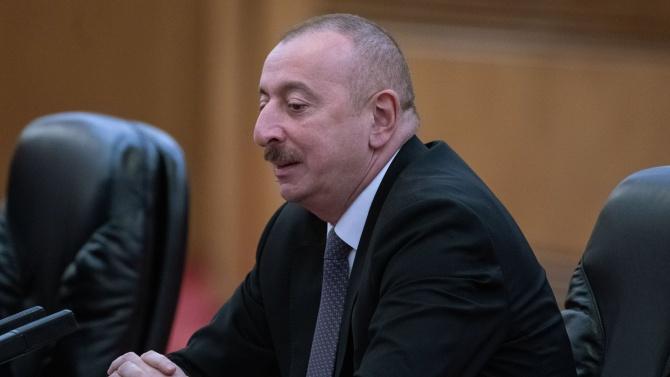 Азербайджанският президент вярва, че конфликтът в Нагорни Карабах ще бъде решен