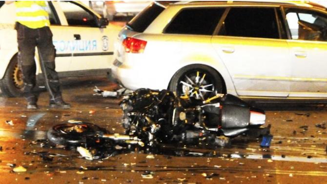 20-годишен загина при катастрофа между мотор и кола