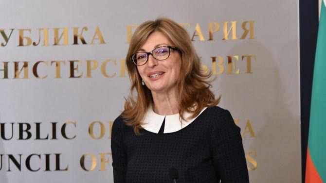 Екатерина Захариева поздрави новия външен министър на Сърбия с встъпването му в длъжност