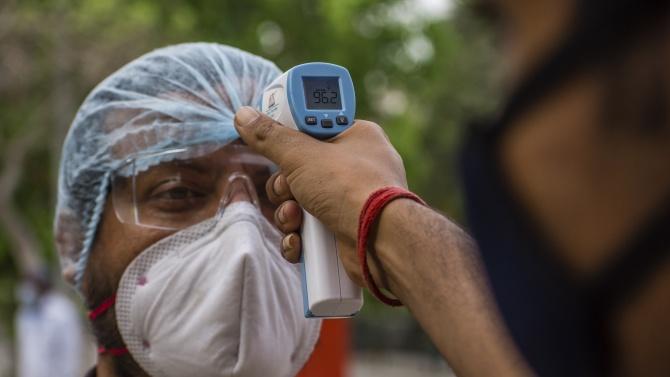 Случаите на заразяване с коронавирус в Индия са вече над 8 милиона