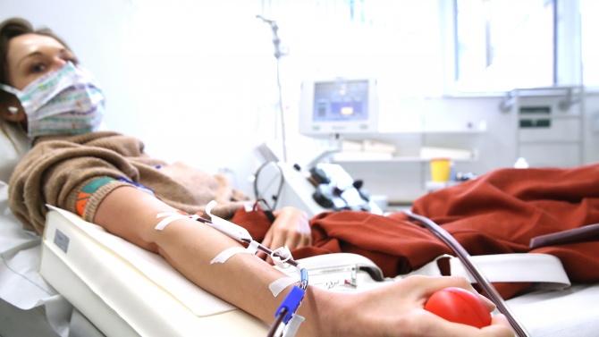 От днес се създава организация за дарение на кръвна плазма във ВМА