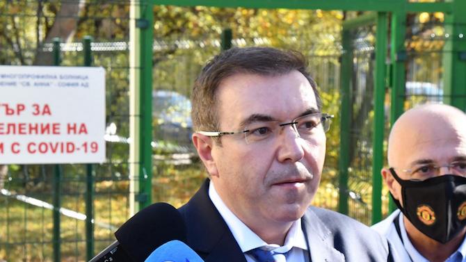 Министър Ангелов с призив към всички българи за справяне с кризата