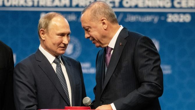 Путин и Ердоган обсъдиха създаването на наблюдателен център за Нагорни Карабах