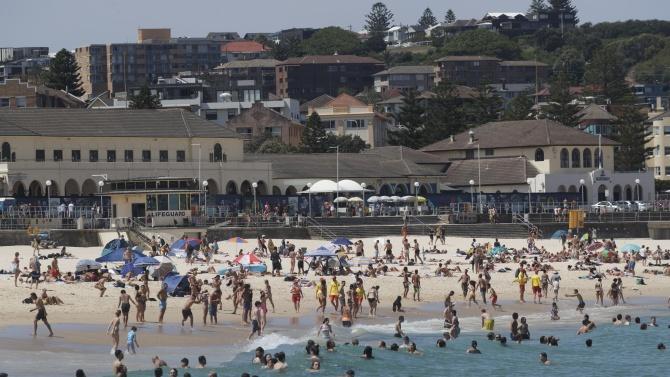 Температурите на места в Австралия надхвърлиха 40 градуса Целзий