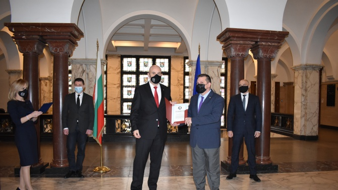Гешев награди прокурори, следователи и служители на МВР