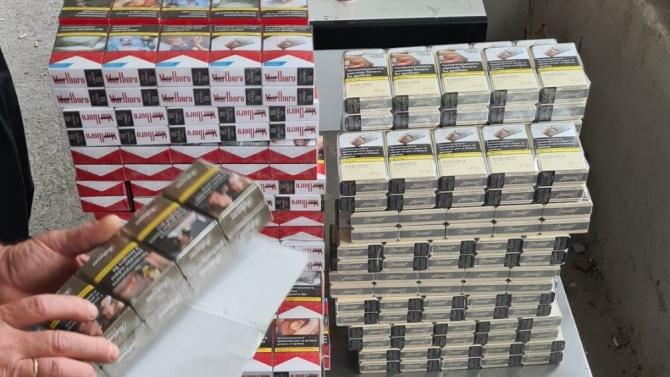 Спипаха над 64 000 къса цигари без документи на митниците у нас