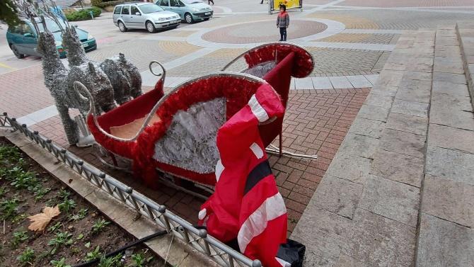 Спукаха Дядо Коледа в Хасково