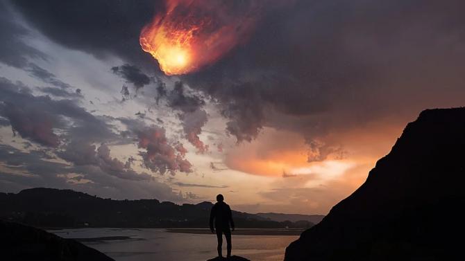 Метеорит избухна над Камчатка