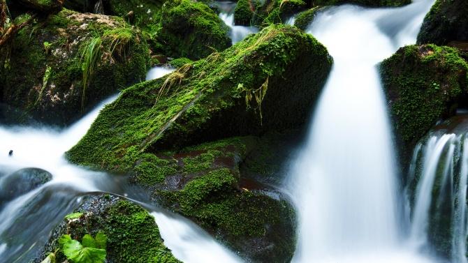 Продължава почистването на коритото на река Бели Лом