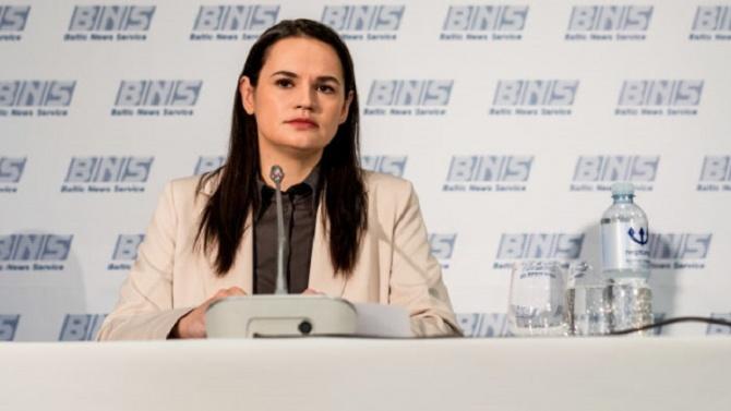 Светлана Тихановска призова Запада за по-строги санкции срещу Лукашенко