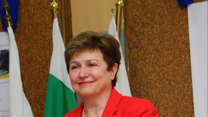 """УНСС присъди званието """"Доктор хонорис кауза"""" на управляващия директор на МВФ доц. д-р Кристалина Георгиева"""