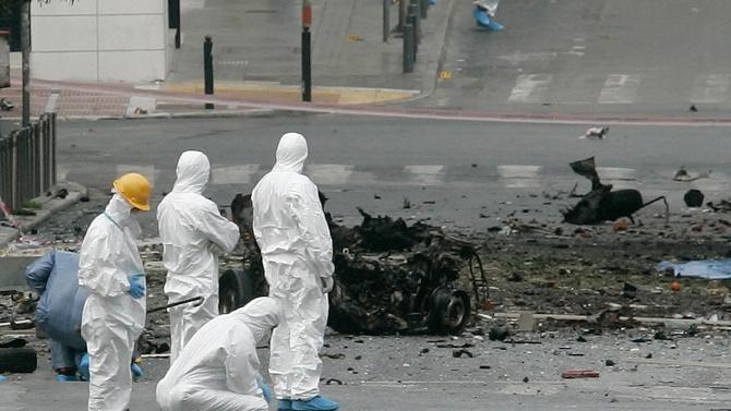 Бомба гръмна в Атина