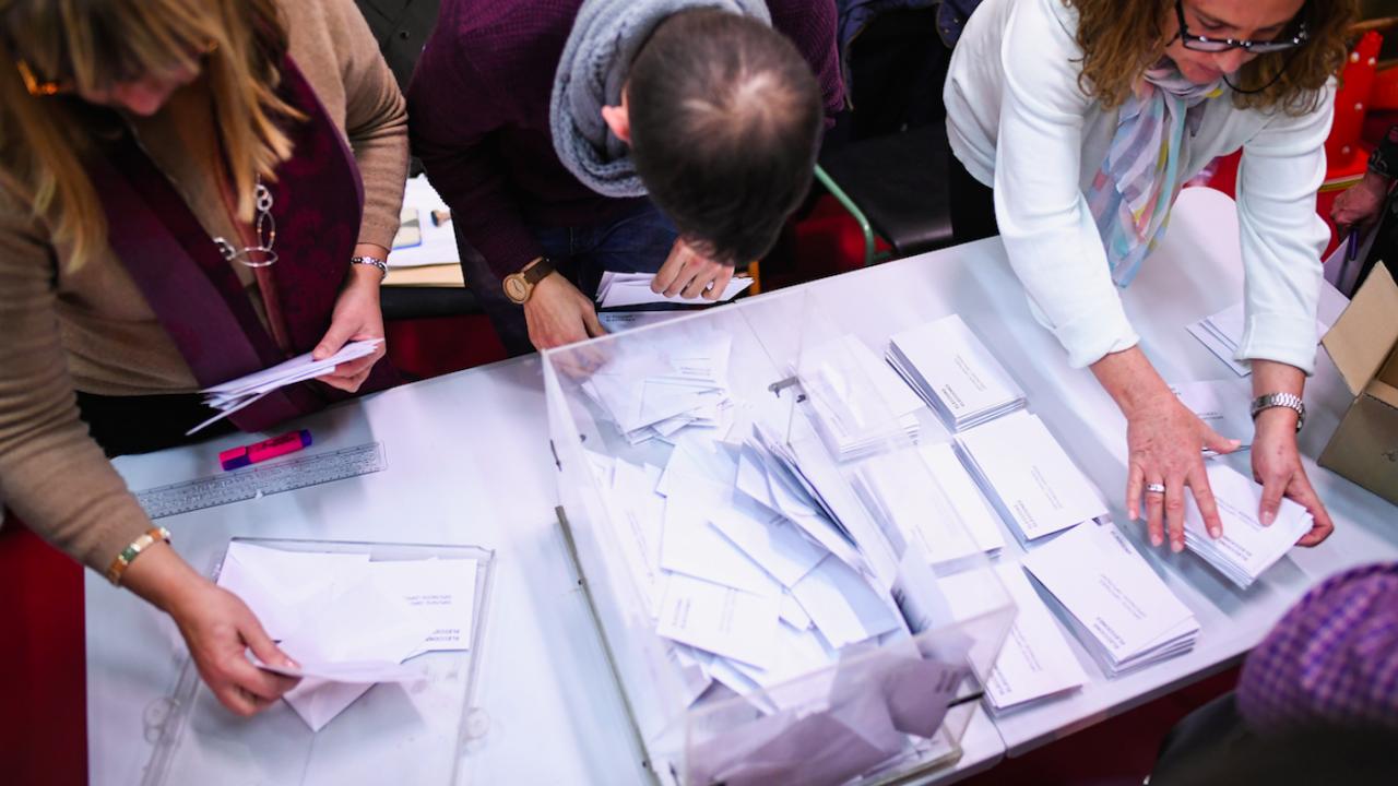 Предсрочни парламентарни избори в Каталуния