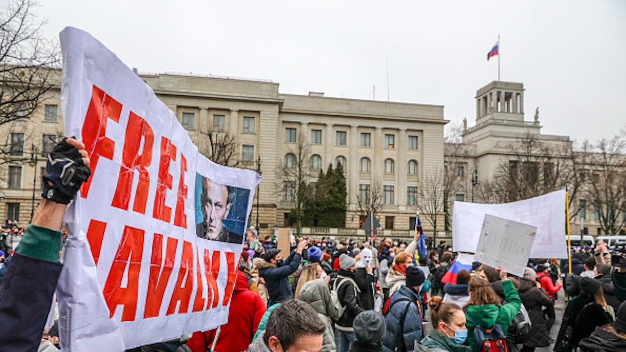 Русия увеличи размера на глобите за нарушения по време на протести