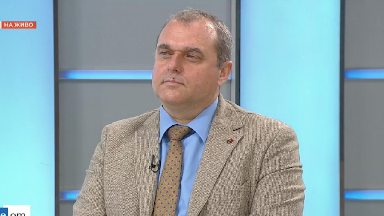Искрен Веселинов от ВМРО: С ГЕРБ имаме ценностни различия