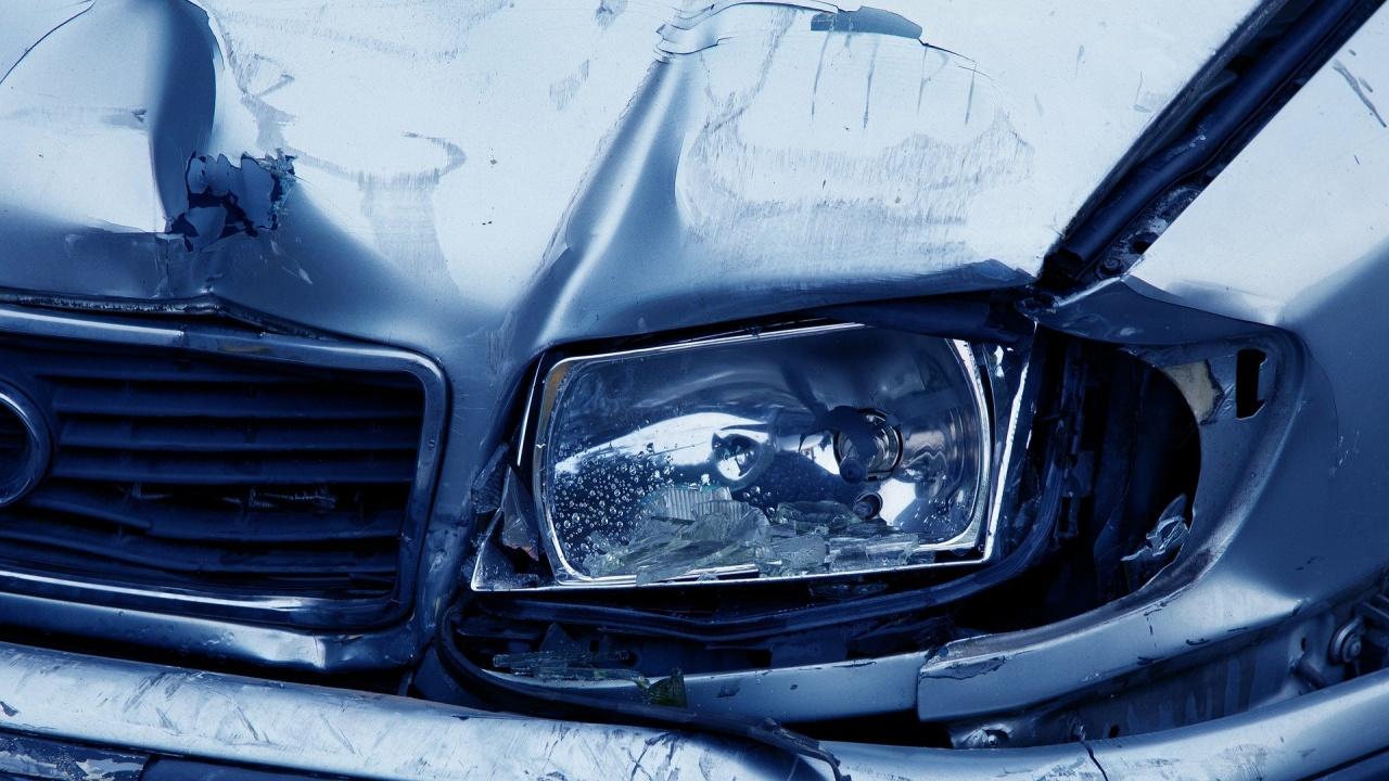 Катастрофа с кола на НСО, няма пострадали