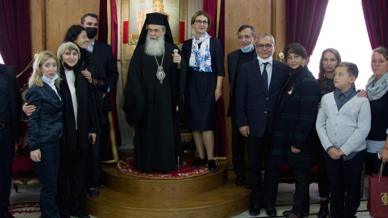 Ерусалимската патриаршия благослови България по случай националния  празник