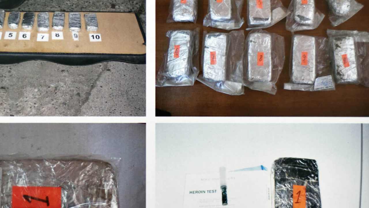 Окръжна прокуратура-Хасково привлече като обвиняеми жена и мъж за контрабанда на хероин