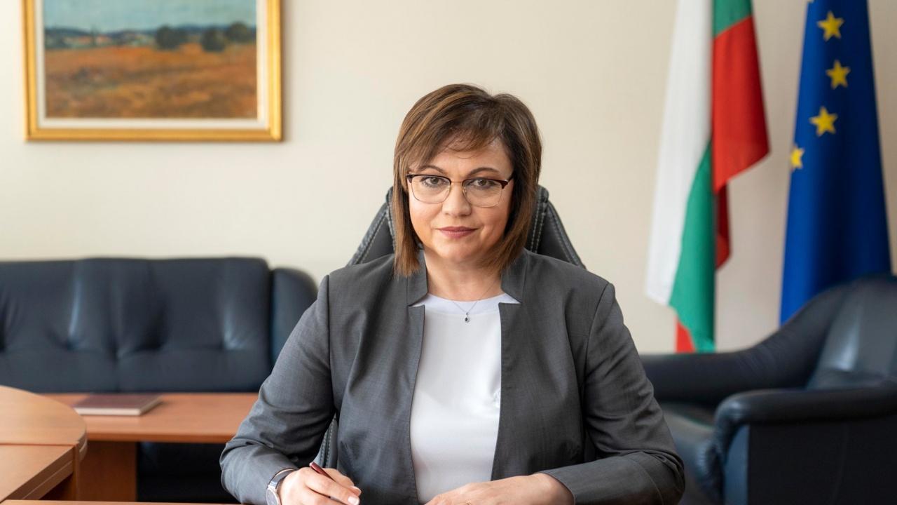 Нинова реагира: Борисов, гледай си партията, БСП ще се изправи