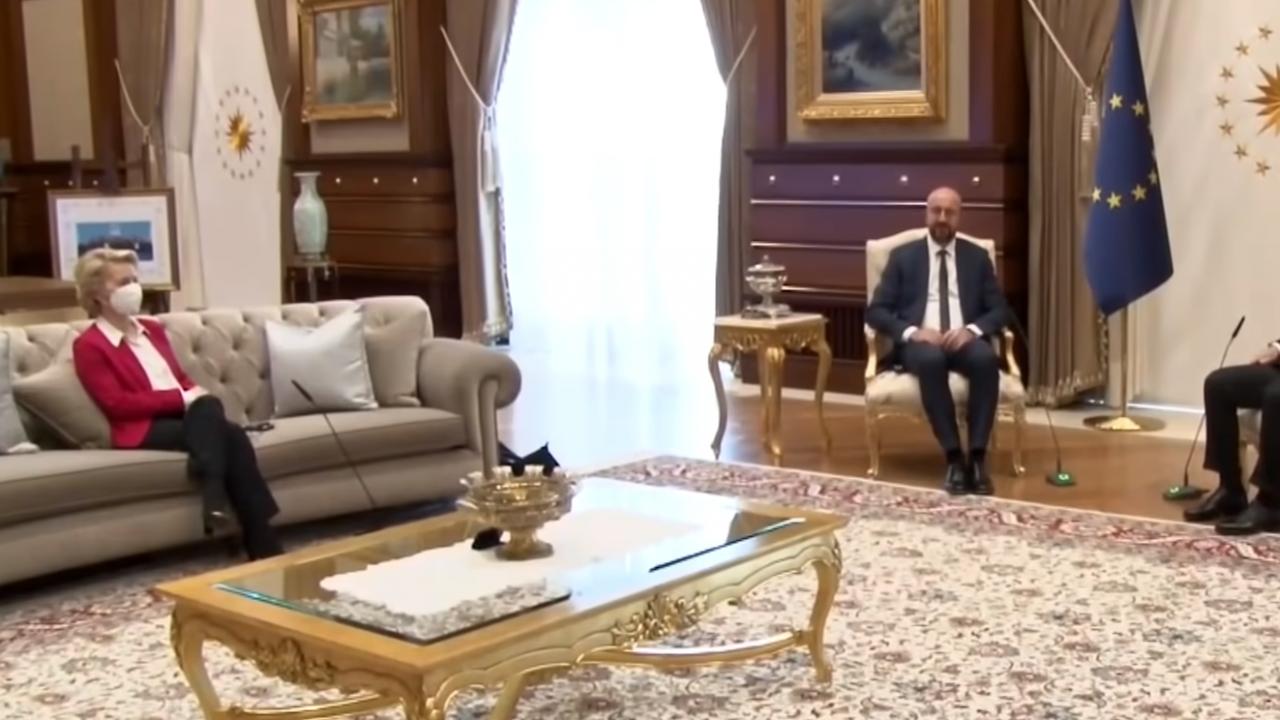 Почетно кресло за Фон дер Лайен в италианския парламент, след като Ердоган я лиши от стол