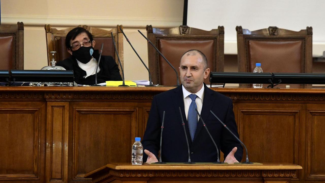 Румен Радев пред новите депутати: Време е да възстановите държавността