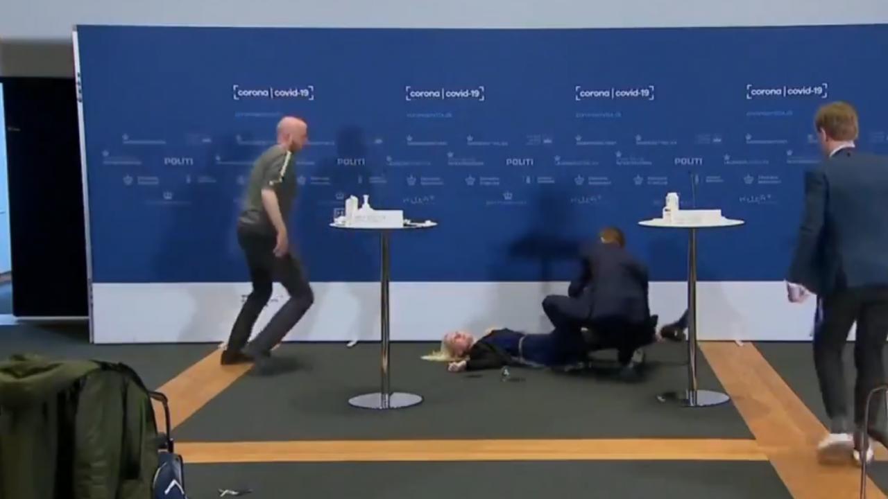 Председателката на Агенцията по лекарствата на Дания припадна по време на пресконференция