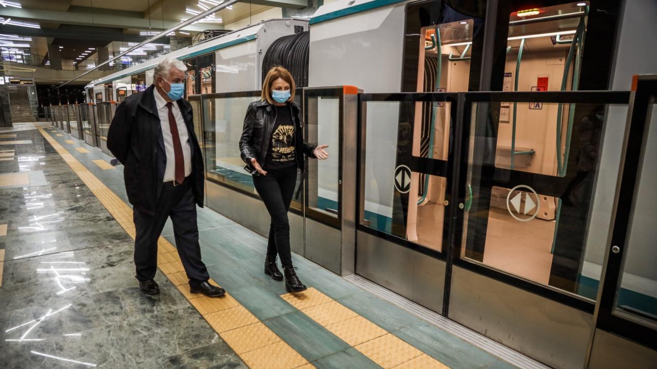 """Фандъкова: На 24 април пускаме метрото през """"Овча купел"""""""