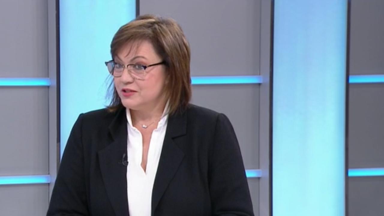 Нинова с първи коментар за операцията на Борисов, обяви при какви условия БСП ще подкрепи кабинет на ИТН