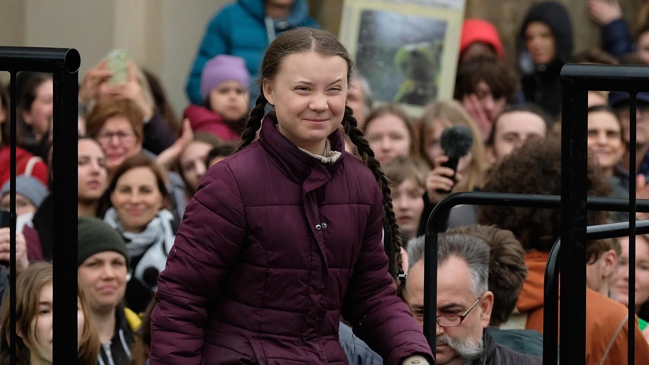 Грета Тунберг превръща борбата си в защита на климата в мисията на своя живот