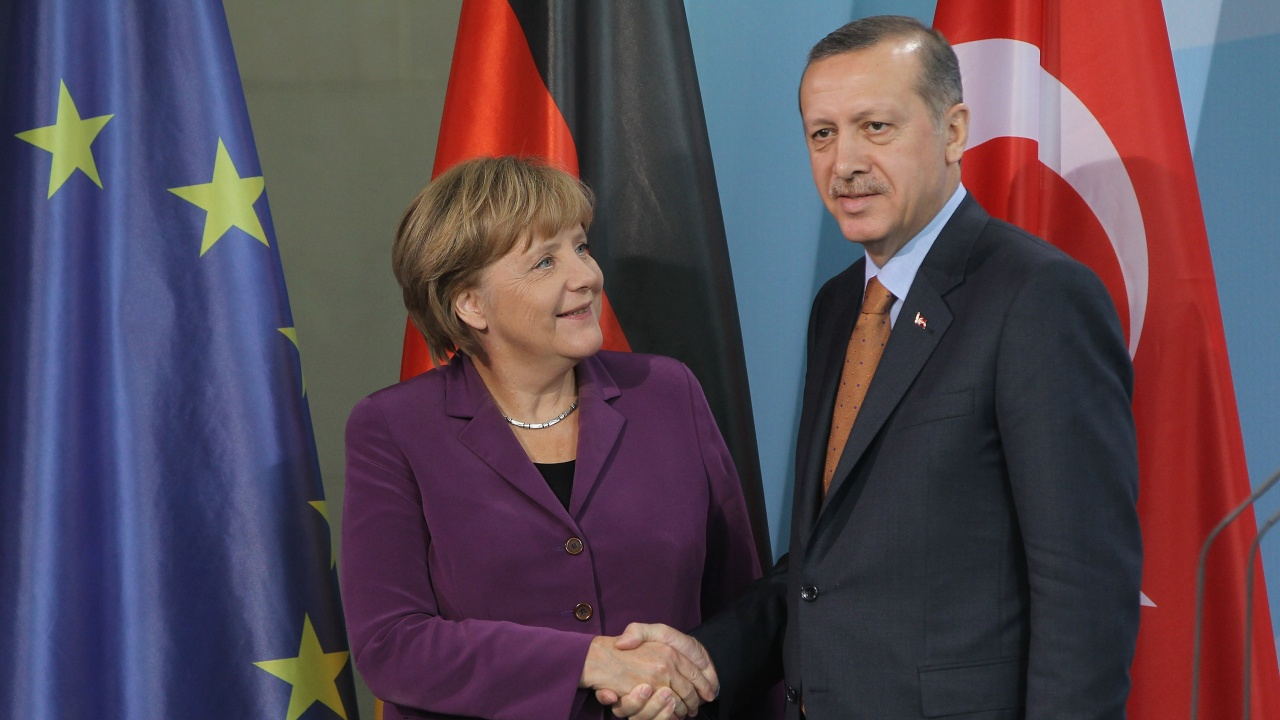 Ердоган е провел видеоконферентен разговор с Меркел