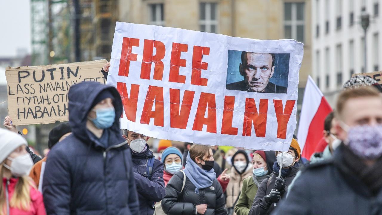 """""""Амнести интернешънъл"""" възстановява статута на Навални като """"затворник на съвестта"""""""