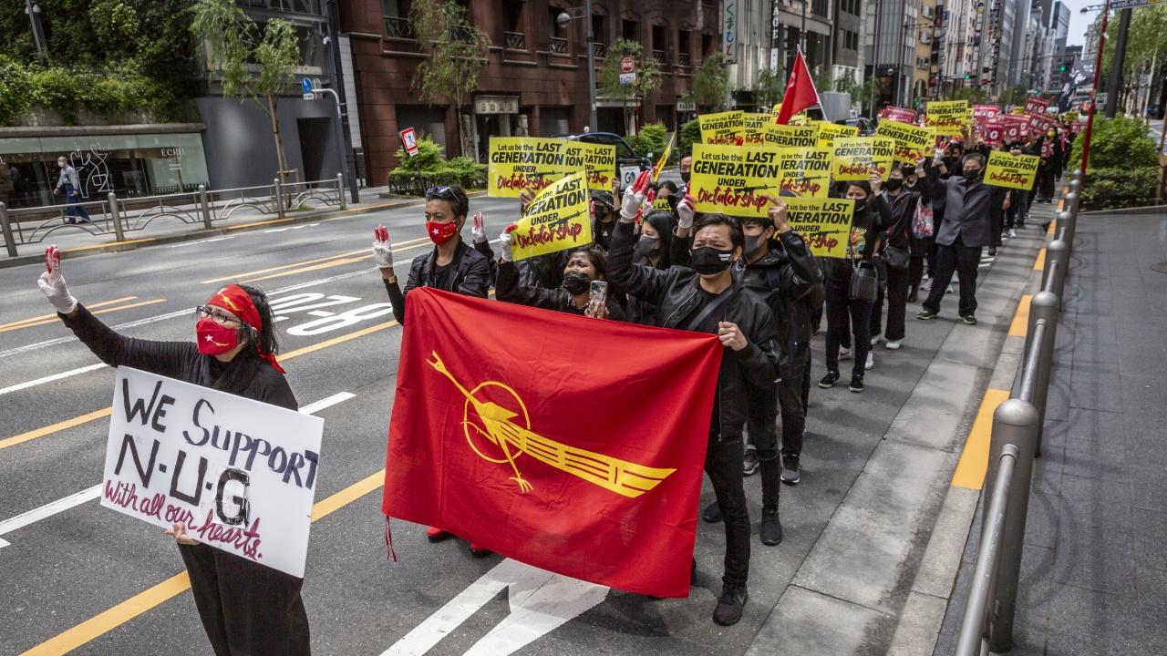 Военната хунта в Мианма обяви паралелното правителство за терористична организация