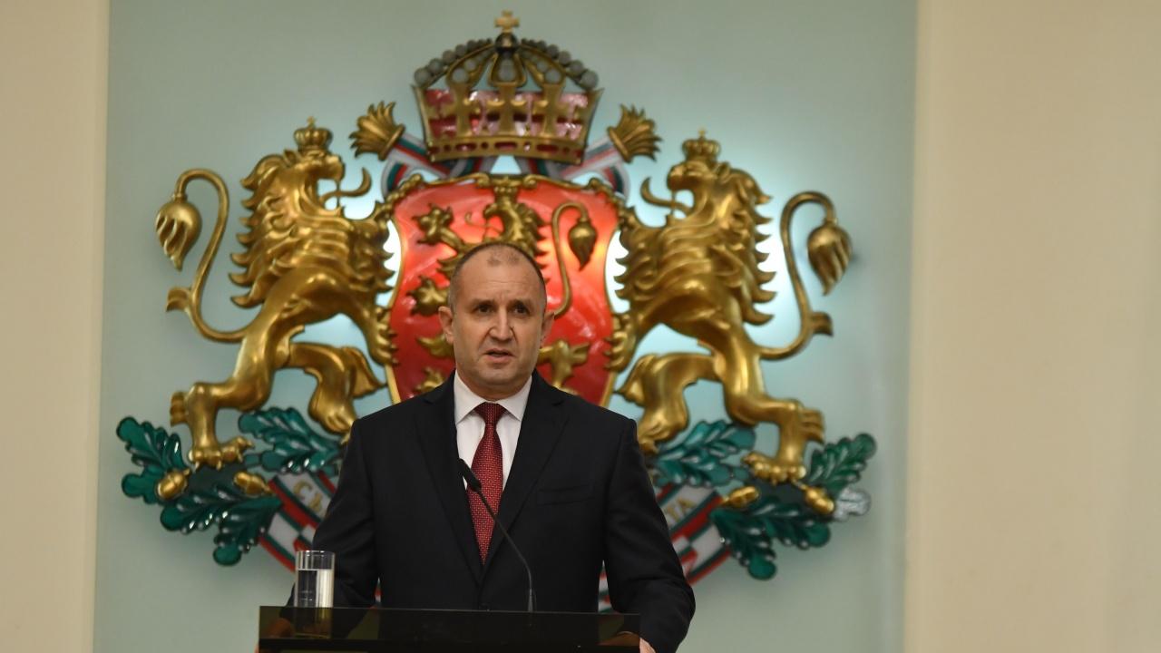Румен Радев изказа съболезнования на близките на Георги Димитров-Джеки
