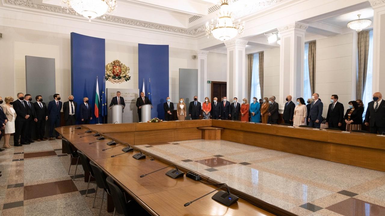 Първо заседание на служебния кабинет