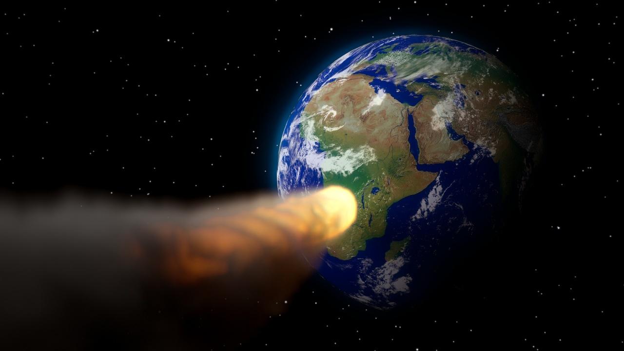 Астероид с диаметър между 88 и 200 метра прелетя днес край Земята