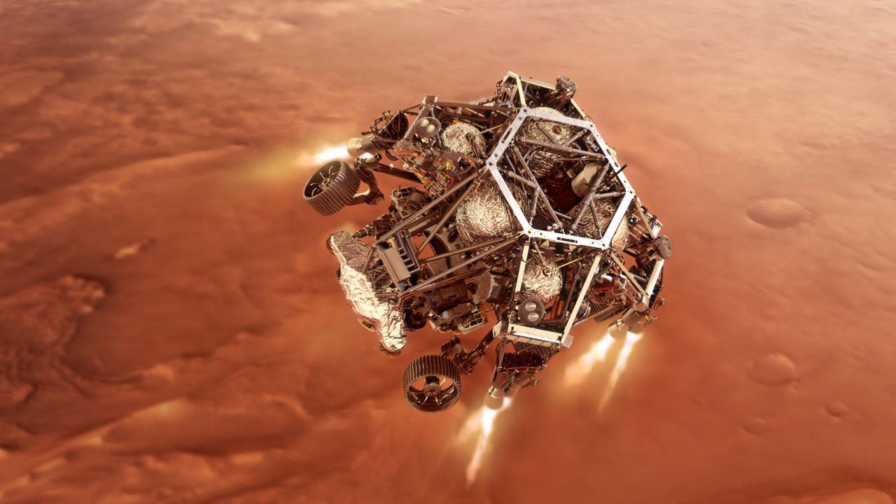 """""""Пърсивиърънс"""" откри загадъчни образувания в кратер на Марс"""
