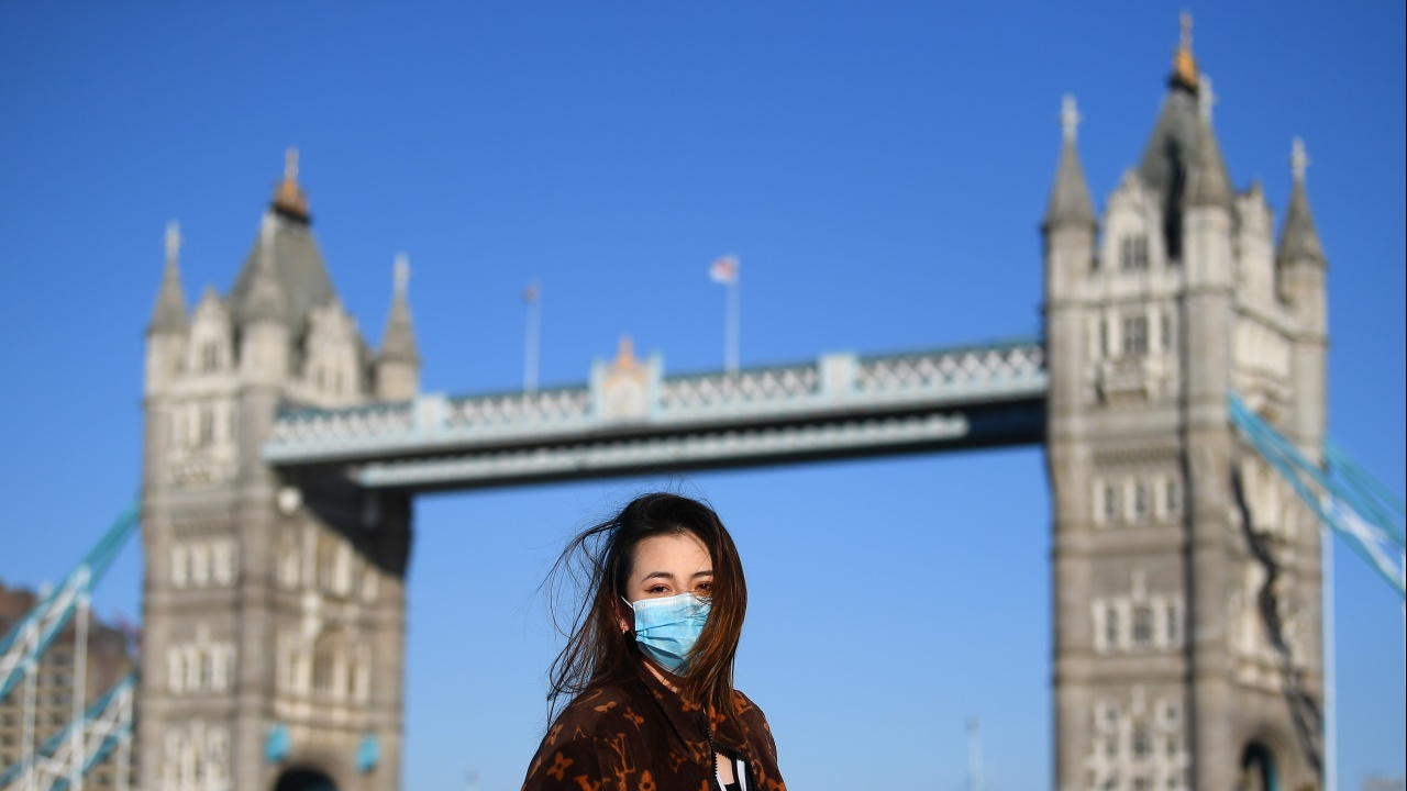 Великобритания обяви нови 2027 заразени и 7 починали за последното денонощие