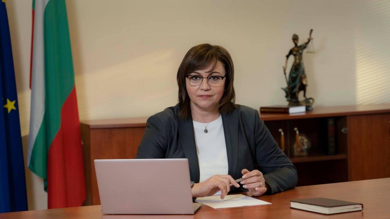 Корнелия Нинова с коментар за качествата на Янаки Стоилов и служебния кабинет