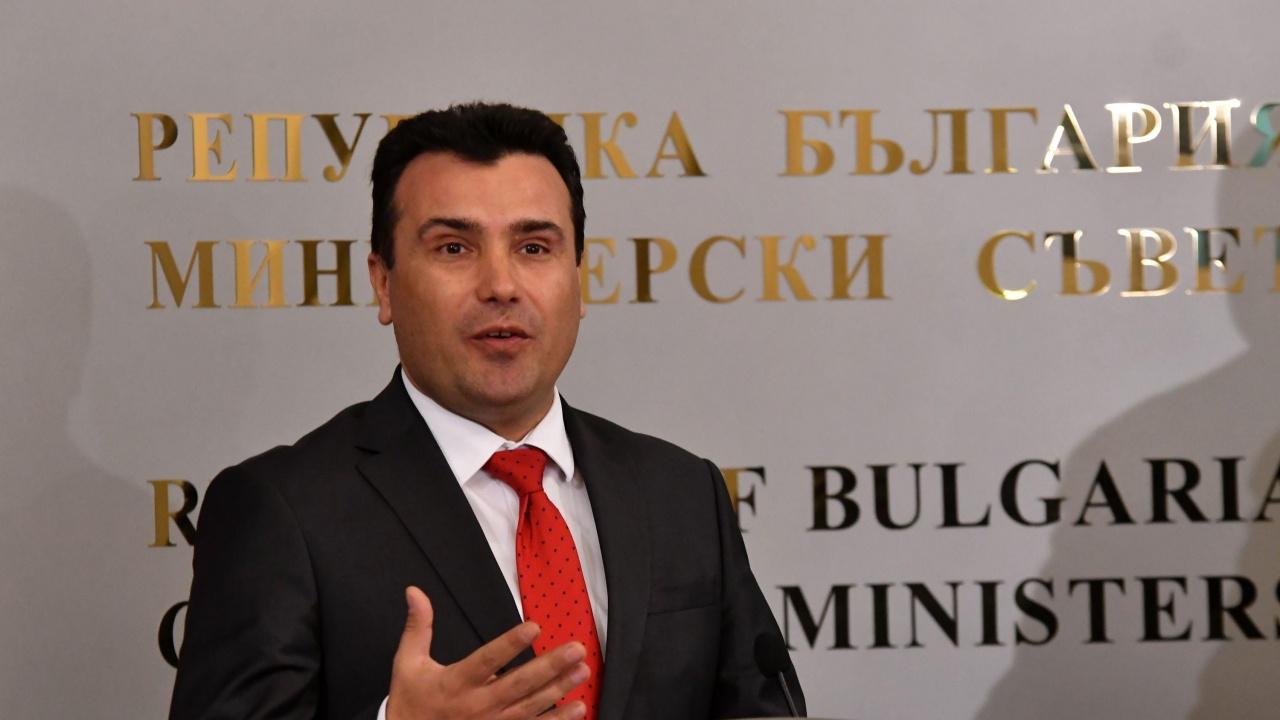 Зоран Заев пред Politico: Скопие разчита Западът да натисне България по историческия спор